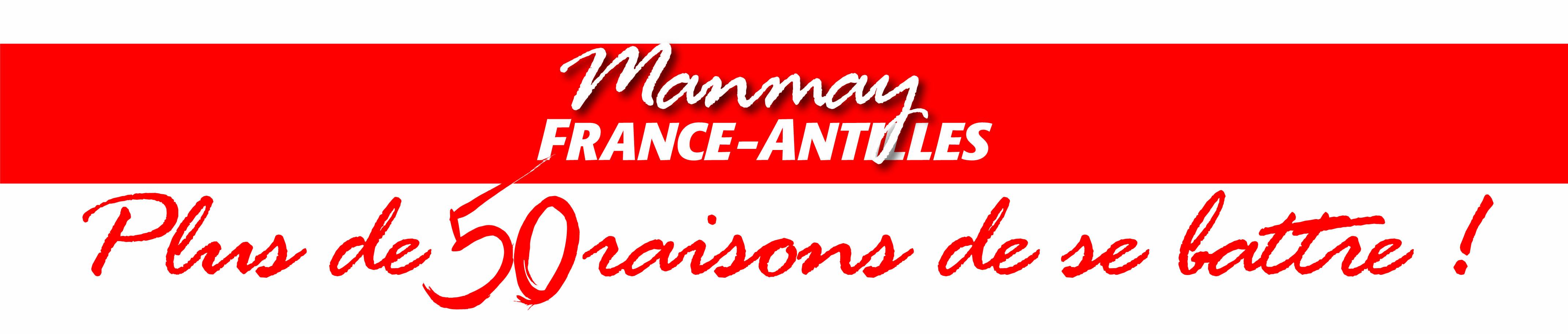 Manmay France Antilles Logo